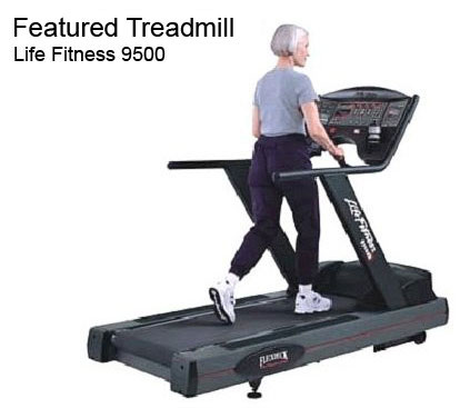 Life Fitness 9500 Treadmill