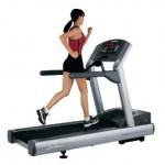 Life Fitness Club Series Treadmill in use